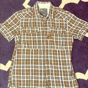 G Star plaid pocket shirt